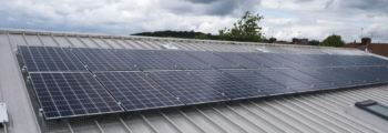 Solar panels on new primary school